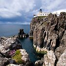 Neist Point Lighhouse, Isle of Skye by Claire Tennant