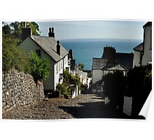 Classic Clovelly Poster