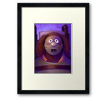 Muppet Maniac - Rowlf Lecter Framed Print