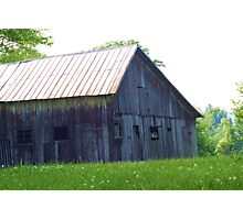 ANOTHER BARN FROM THE PAST Photographic Print
