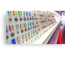 Medal Row, Shrine of Remembrance - Melbourne, Victoria Canvas Print