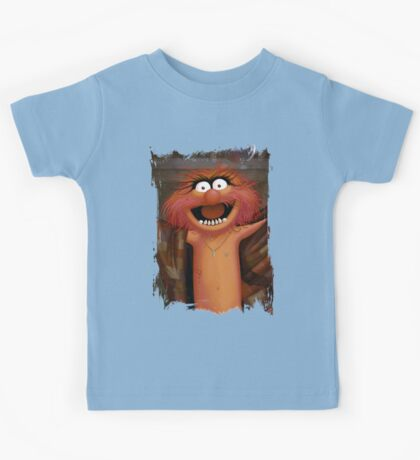 Muppet Maniacs - Animal as Buffalo Bill Kids Tee