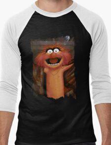 Muppet Maniacs - Animal as Buffalo Bill Men's Baseball ¾ T-Shirt