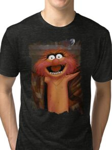 Muppet Maniacs - Animal as Buffalo Bill Tri-blend T-Shirt