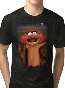 Muppet Maniacs - Animal as Buffalo Bill Tri-blend T-Shirt