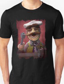 Muppet Maniacs - Swedish Chef as Leatherface Unisex T-Shirt