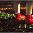 Two Red Boots by SarahLynn-Photo