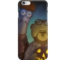 Muppet Maniacs - Beaker Myers & Dr. Honeyloomis iPhone Case/Skin