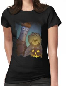 Muppet Maniacs - Beaker Myers & Dr. Honeyloomis Womens Fitted T-Shirt