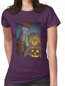 Muppet Maniacs - Beaker Myers & Dr. Honeyloomis Womens Fitted T-Shirt