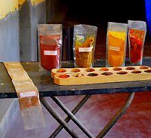 Spice Mix, Spice Market, Fort Kochin, Kerela, India by PaulStevens