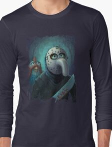 Muppet Maniacs - Gonzo Voorhees Long Sleeve T-Shirt