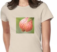 Wild Blossoming Buds Womens Fitted T-Shirt