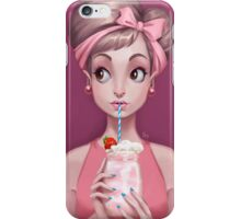 Strawberry Milkshake iPhone Case/Skin