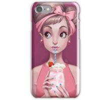Strawberry Milkshake iPhone Case/Skin
