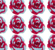 Embroidered Roses Sticker