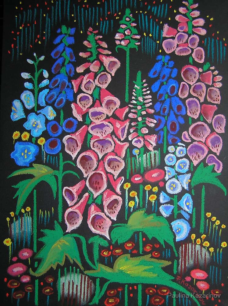 Fairy's Garden by Paulina Kazarinov
