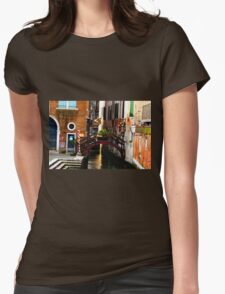 little slice of venice Womens Fitted T-Shirt