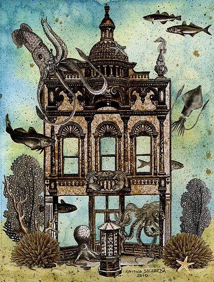 Octopus's House, Undersea by WinonaCookie