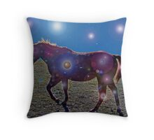 Monte's Magical Night Throw Pillow
