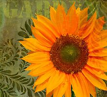 Summer Sun II Afternoon Sunflower Garden by Glimmersmith