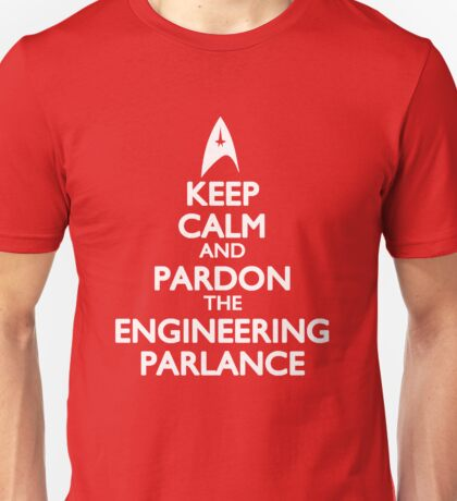 Pardon the Engineering Parlance Unisex T-Shirt