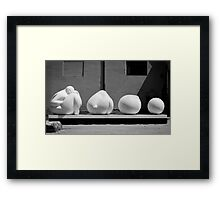 Modern art within Ancient Rome Framed Print