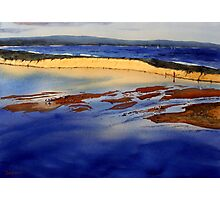 The Entrance Sand Bar, New South Wales Photographic Print