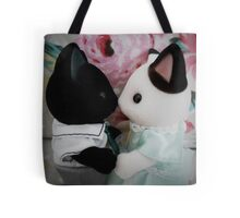 Sylvanian Families ~ Cat Couple in Love Tote Bag