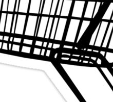 Shopping Trolley Sticker