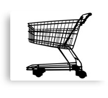 Shopping Trolley Canvas Print