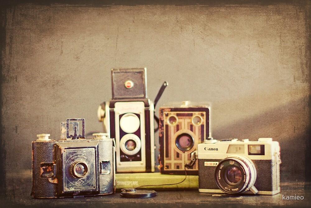 Vintage Cameras by kamieo