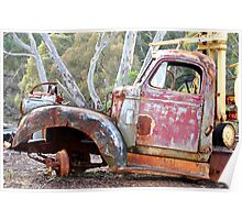 I Need New Tyres - Hill End NSW Australia Poster