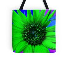 Psychedelic Sunflower Tote Bag