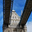 Tower Bridge, London, England by Laura Cooper