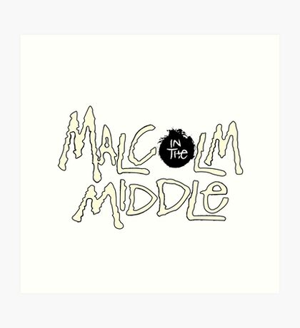 Malcolm in the Middle Art Print