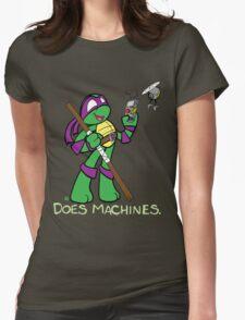 Teenage Mutant Ninja Turtles- Donatello Womens Fitted T-Shirt