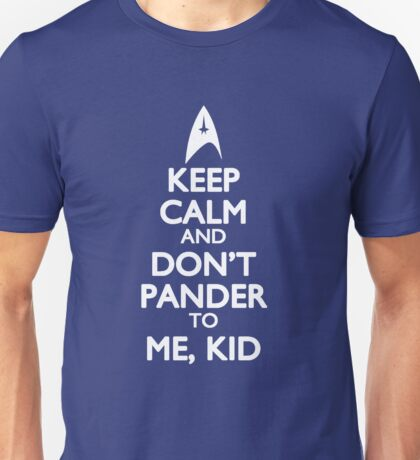 Don't Pander to Me, Kid Unisex T-Shirt