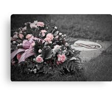 Remember...   Breast Cancer Metal Print