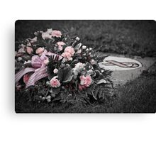 Remember...   Breast Cancer Canvas Print
