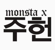 Monsta X Jooheon Name/Logo by PaolaAzeneth