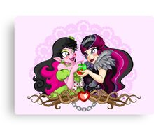 Be My Snow White Canvas Print