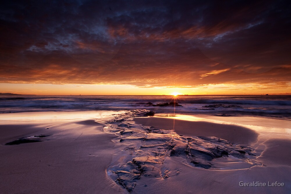 Here comes the sun by Geraldine Lefoe