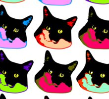 All of the Electric Tuxie Faces Sticker