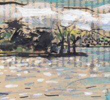 Clarke Island, from Darling Point Sticker