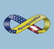 Support Support Ribbons Ribbon by Frank Pena