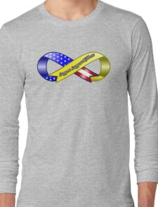 Support Support Ribbons Ribbon Long Sleeve T-Shirt