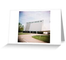 The Melody Drive In, Springfield, Ohio Greeting Card