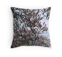 Magnolia Sky Throw Pillow