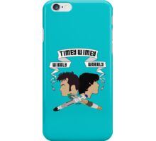 Timey Wimey Doctors iPhone Case/Skin